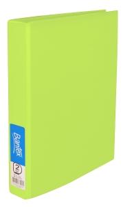 BANTEX  RING BINDER  FRUIT COLOURS 2D-RING 25MM A4 LIME- EACH
