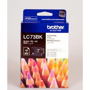 BROTHER INKJET CARTRIDGE LC-73 BLACK - EACH