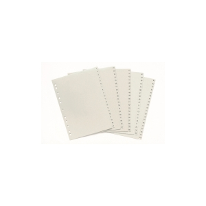 MARBIG 1-100 NUMERICAL INDICIES POLYPROPYLENE A4 GREY  -EACH