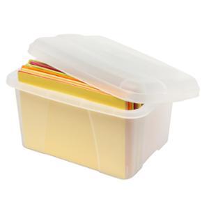 CRYSTALFILE PORTA - BOX E 20L PLASTIC CLEAR - EACH