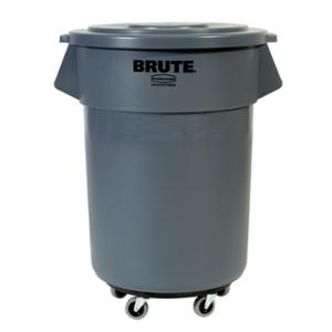 RUBBERMAID COMMERCIAL BRUTE CONTAINER 121L GREY - EACH