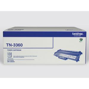 BROTHER LASER TONER CARTRIDGE TN-3360 BLACK - EACH