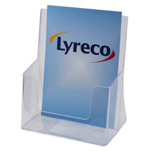 LYRECO 1 TIER BROCHURE HOLDER A5 - EACH