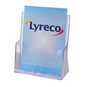 LYRECO 1 TIER BROCHURE HOLDER A4 - EACH