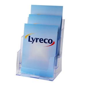 LYRECO 3 TIER BROCHURE HOLDER A4 - EACH