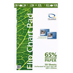 QUARTET RECYCLED FLIPCHART PAPER 60X850MM - EACH **WHILE STOCKS LAST**