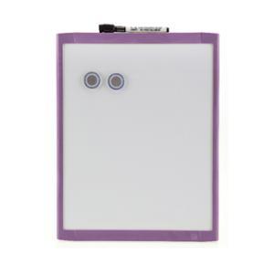 QUARTET BASICS WHITEBOARD 280X360MM PURPLE FRAME - EACH
