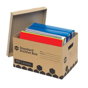 MARBIG ENVIRO ARCHIVE BOX 315X420X260MM - PACK OF 5