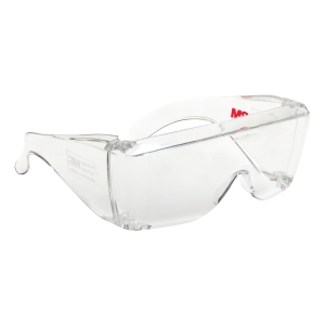 3M SAFETY GOGGLES OVERSPECTACLES CLEAR - EACH