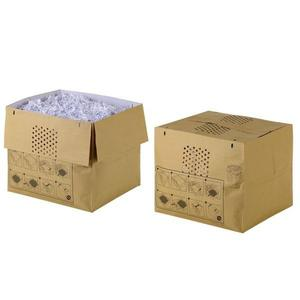 REXEL STACK & SHRED AUTO+500X RECYCLABLE SHREDDER BAG 80L - PACK OF 25