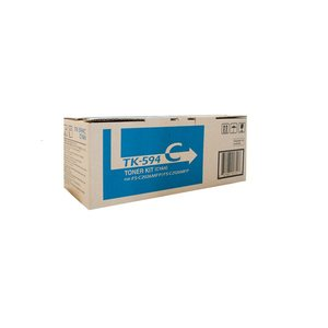 KYOCERA LASER TONER CARTRIDGE TK-594 CYAN - EACH
