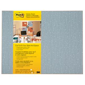 3M POST IT CUT-TO-FIT DISPLAY BOARD 584X457MM ICE - EACH