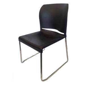 SEATING SOLUTIONS VO4 VISITORS CHAIR BLACK  - EACH