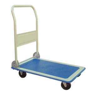 JASTEK PH150 FLAT FOLD HAND TRUCK/TROLLEY 150KG CAPACITY WHITE/BLUE - EACH