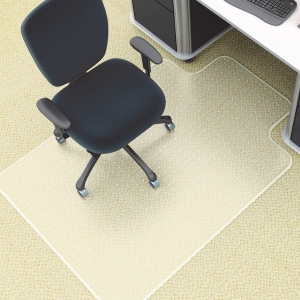 MARBIG DELUXE PVC CHAIRMAT 910X1210MM SMALL - EACH