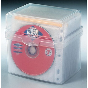 KENSINGTON 100-CD STORAGE - BOX WITH SLEEVES - EACH