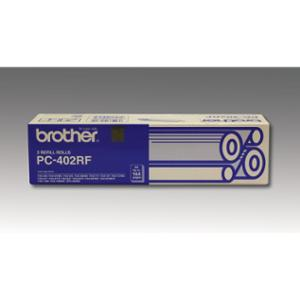 BROTHER FAX CARTRIDGE PC-402RF BLACK - BOX OF 2