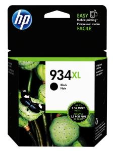 HP 934XL C2P23AA INKJET CARTRIDGE  BLACK - EACH
