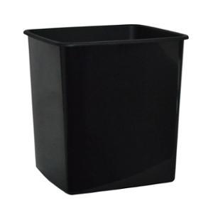 LYRECO BUDGET BIN 15 LITRE CAPACITY BLACK - EACH