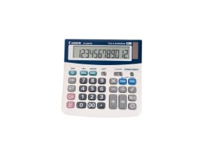 CANON TX220TS 12 DIGIT DESKTOP CALCULATOR 145X145.5X30MM - EACH