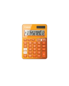 CANON LS-123 K-SERIES DESK CALCULATOR ORANGE - EACH