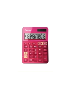 CANON LS-123 K-SERIES DESK CALCULATOR PINK - EACH