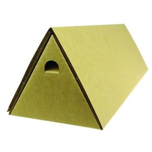 TRIANGULAR POSTAL TUBE 60 X 600MM BROWN - PACK OF 10 **WHILE STOCKS LAST**