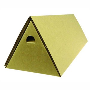 TRIANGULAR POSTAL TUBE 60 X 720MM BROWN - PACK OF 10