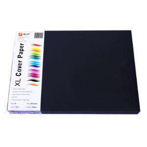 QUILL COVER PAPER A3 125GSM BLACK - PACK OF 250 SHEETS