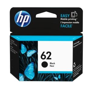 HP 62 C2P04AA INKJET CARTRIDGE BLACK - EACH