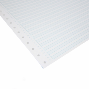ALLIANCE 1 PART NON-PERFORATED COMP PAPER BLU RULED 70GSM 11X15MM - BOX OF 2000