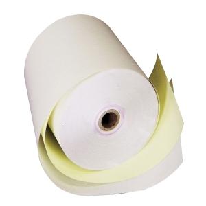 ALLIANCE PAPER 2-PLY MACHINE ROLLS 76 X 76 X 11MM - BOX  OF 50 ROLLS
