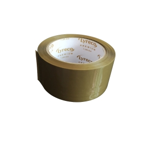 STYLUS VIBAC PREMIUM PACKAGING TAPE 48MM X 75M BROWN - EACH