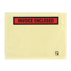 CUMBERLAND SELFADHESIVE INVOICE ENCLOSED PACKING ENVELOPE 155X115MM-BOX OF 1000
