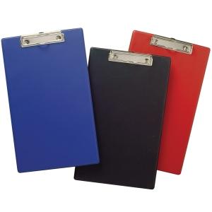 MARBIG PVC CLIPBOARD FOLLSCAP BLACK - EACH