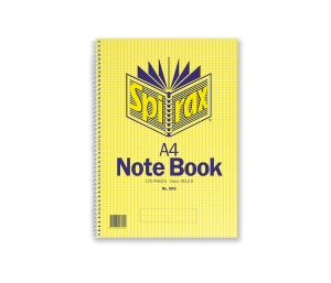 SPIRAX 595 NOTE BOOK A4 120 PAGE - EACH