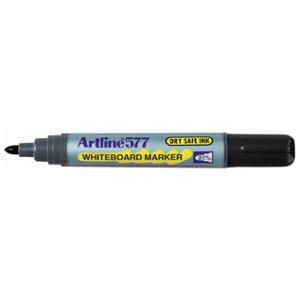 ARTLINE 577 BULLET TIP WHITEBOARD MARKER 2.0MM BLACK - BOX OF 12