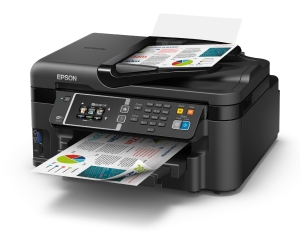EPSON WORKFORCE  WF3620 INKJET MULTIFUNCTION PRINTER - EACH