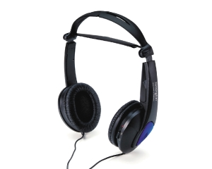 KENSINGTON NOISE CANCELLING HEADPHONES BLACK - EACH