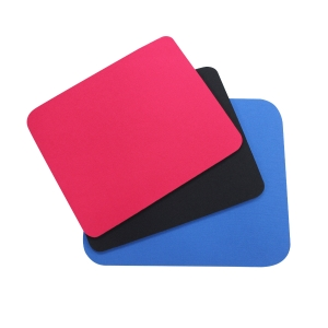LYRECO CLOTH MOUSE PAD BLACK - EACH