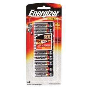ENERGIZER MAX AA BATTERY - PACK OF 10