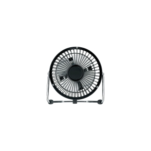 ITALPLAST METAL DESK FAN 10 CM ASSORTED COLOURS - EACH