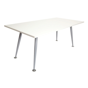 RAPIDSPAN MEETING TABLE 1800 X 900 WHITE - EACH