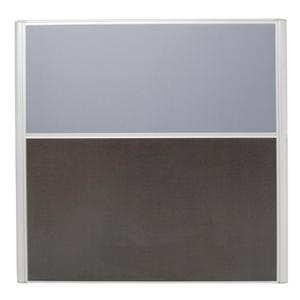 RAPID SCREEN 1250H X 750W GREY - EACH