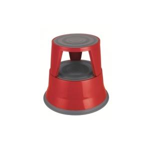 DURUS KICKSTOOL 2 STEP METAL RED - EACH