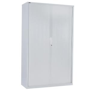 GO STEEL TAMBOUR DOOR CUPBOARD 1981H X 900W X 473D WHITE - EACH