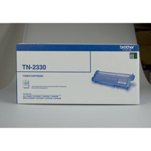 BROTHER TN-2330 MONO LASER TONER CARTRIDGE BLACK - EACH