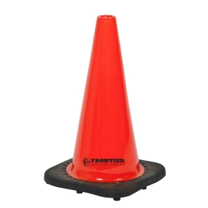 FRONTIER NON-REFLECTIVE TRAFFIC CONE 700MM ORANGE/BLACK - EACH