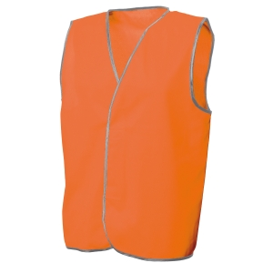 FRONTIER DAY VEST LARGE FLUORO ORANGE - EACH