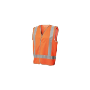 FRONTIER DAY/NIGHT VEST MEDIUM FLUORO ORANGE - EACH